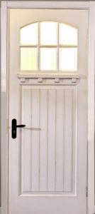 Solid Entrance Wood Door/Classic Timber Door/ Wooden Door for Villa/White Wood Door pictures & photos