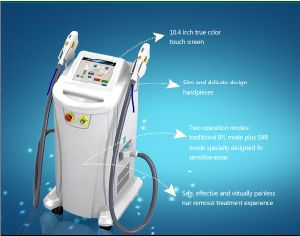 FDA, Ce Approved IPL Shr Skin Rejuvenation and Hair Removal Machine pictures & photos