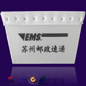 Customized Plastic Corrugated Coroplast PP Box Nestable Tote with Ultrasonic Welding pictures & photos