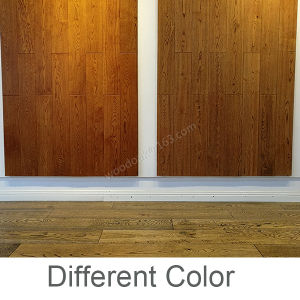 Oak Wood Flooring /Oak Hardwood Flooring with Stain Teak Color pictures & photos
