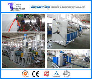 China HDPE Pipe Making Machine / Extruding Machine / Extrusion Line pictures & photos
