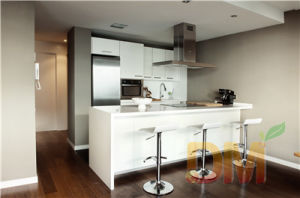High Quality MDF Lacquer Simple Small Kitchen Cabinet