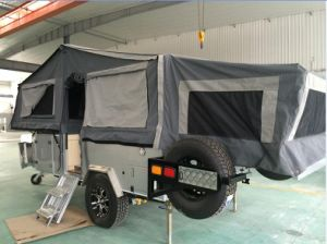 Double Folded up Camper Trailer pictures & photos