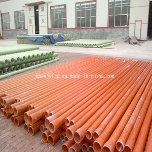 Low Price and High Quality Glass Fiber Pipe /GRP Pipe pictures & photos