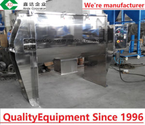 Factory Double Spiral Powder Ribbon Blender Mixing Machine pictures & photos