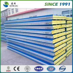 2017 Hot Sale Building Material Warm-Keeping Rock Wool Sandwich Panel pictures & photos