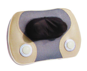 Electric Infrared Heat Shiatsu Neck Massage Pillow / Butterfly Massager pictures & photos
