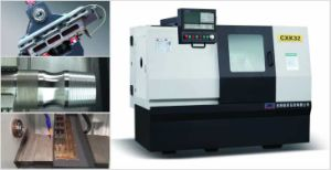 Small Slant Bed CNC Lathe Machine with Linear Guideway (CXK32/HTC32) pictures & photos