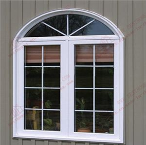 Classical Arch PVC Casement Window (BHP-CWA08) pictures & photos