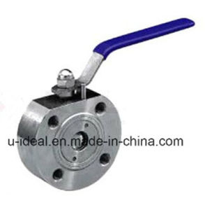 Forged Steel Wafer Ball Valve pictures & photos