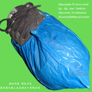 Disposable HDPE Shoe Cover pictures & photos