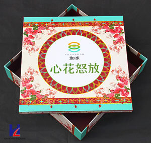 Custom Elegant High Quality Color Printing Cardboard Gift Box pictures & photos
