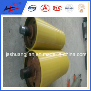 Conveyor Pulleys with Abrisive Coating Rubber Pulley Polyurethane Pulley pictures & photos
