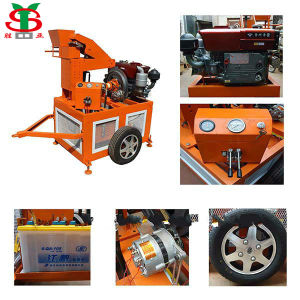 Automatic Hydraform Clay/Soil/Earth Interlocking Brick Moulding Machine (SY1-20)