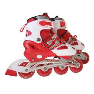 2015 New Design Red Inline Skates