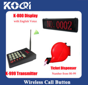 Safe Delivery Top Popular Tickets Dispenser Order Take Electronic System pictures & photos
