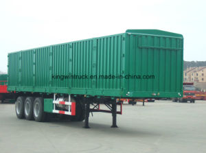China Brand Coal Transport Semi-Trailer pictures & photos