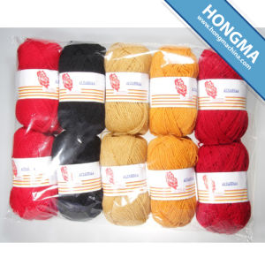 Knitting Acrylic Yarn 10s/2 47g 10balls Per Polybag (1009-A) pictures & photos