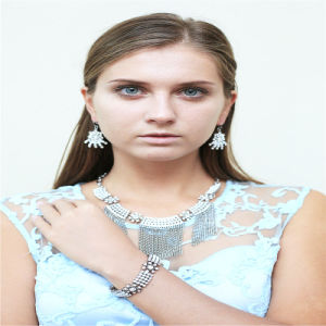New Design Resin Acrylic Beads Fashion Necklace Bracelet Earring Jewellery Set pictures & photos