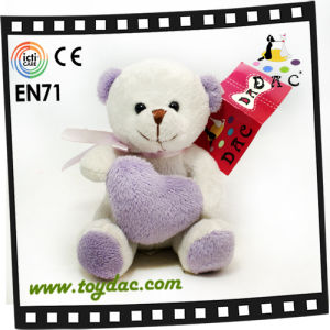 Plush Bear with Heart Toy (TPJR0151) pictures & photos