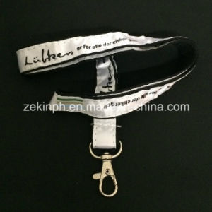 Custom Stitched Logo Nylon Lanyard for Promotion pictures & photos