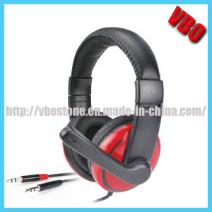 Popular Cheap Computer Headphone with Volume Control (VB-9662M) pictures & photos