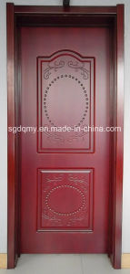2015 New Design Melamine Faced HDF/MDF Door with Wooden Frame
