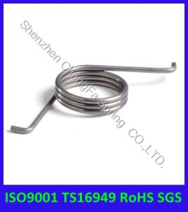 ISO9001 Ts16949 Stainless Steel Single Torsion Spring