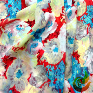 Printed Polyester Silk Fabric for The Dress Wear pictures & photos