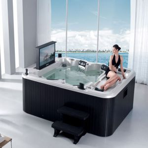 Monalisa Middle Hot Tub with Waterproof TV Luxury SPA (M-3304) pictures & photos