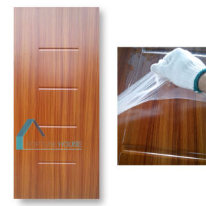 Teak Veneer Melamine Moulded HDF MDF Door Skin pictures & photos