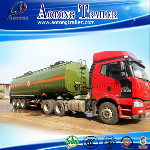 45000 Liters Fuel Tanker Semi Trailer, 3 Axle 50000 Liters Oil Tanker Trailer, Truck Fuel Tanker Trailer for Sale pictures & photos