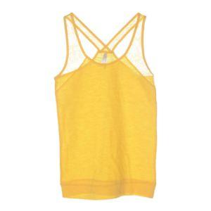 Fashion Clothing Sleeveless Round Neck Cotton Ladies Tank Top pictures & photos