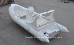 Liya 6.2m Hypalon Rib Boat China Military Inflatable Boat for Sale pictures & photos