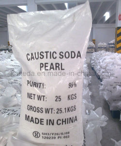 Industry Grade 99% Caustic Soda Flakes CAS No: 1310-73-2 pictures & photos