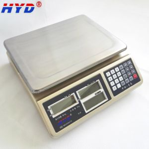Haiyida Dual Display Table Scale with Dual Display pictures & photos