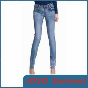 Women Fashion Denim Skinny Jean (JC1062) pictures & photos