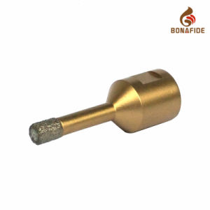Drilling Machine Tools Vacuum Brazed Diamond Core Drill Bits M14 Thread Shan pictures & photos