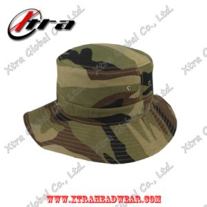 Marpat Woodland Camouflage Army Camo Bucket Hat Fish Man Hats pictures & photos