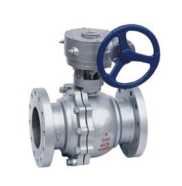 Gear Operated Flanged Ball Valve (Q341F-150LB) pictures & photos