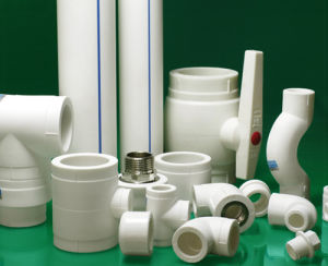 DIN PVC Pipe Fittings Tee pictures & photos