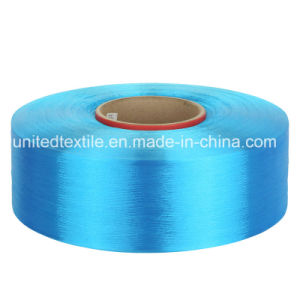 Lianfang Polyester Dope-Dyed FDY Filament Yarn with 150d/48f Trilobal Bright pictures & photos