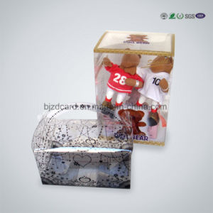 Plastic Transparent Printed Packaging Paper Gift Box with PVC Window pictures & photos