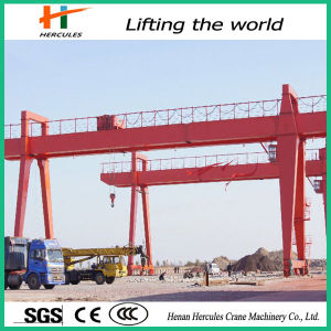 China Manufacturer 32t Double Girder Gantry Crane pictures & photos