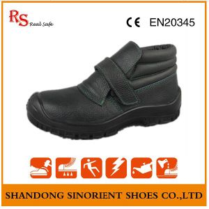 Chemical Resistant Welding Safety Shoes, No Lace Safety Shoes for Men RS022 pictures & photos
