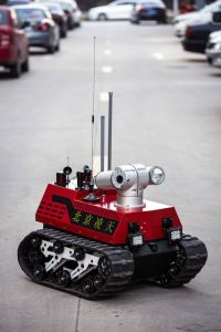 PTZ and Night Vision Available Firefighting Reconnaissance Robot pictures & photos