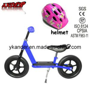 Childrens Balance Bike Kids Balance Learning Bike Cycling Running Training Bike with Helmet (AKB-1258)