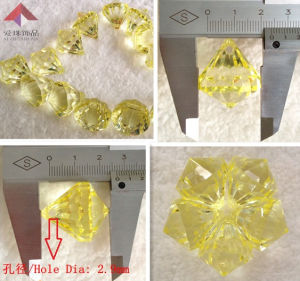 Fashion Jewelry, Transparent Beads (water)
