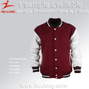Healong Sportswear Light Weight Sublimation Printing Man Baseball Jacket pictures & photos