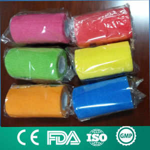 Colorful Self Adherent Cohesive Bandage pictures & photos
